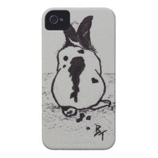 El conejito va Oops caja intrépida de Blackberry Case-Mate iPhone 4 Cárcasa