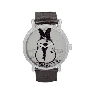 El conejito va Oops Reloj De Mano