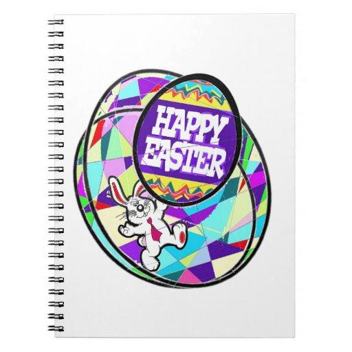 El conejito y los huevos de Pascua Libreta Espiral