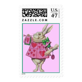 El conejo blanco - Alicia en el país de las Estampillas