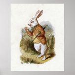 El conejo blanco - Alicia en el país de las maravi Impresiones