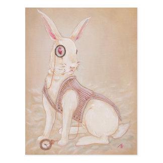 El conejo blanco - Alicia en postal del país de la