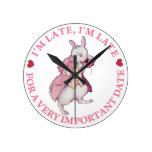 El conejo blanco de Alicia en el país de las marav Relojes