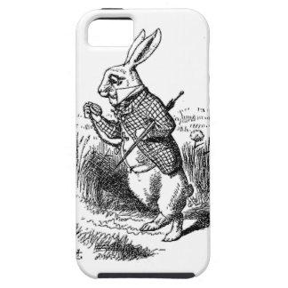 El conejo blanco iPhone 5 Case-Mate fundas