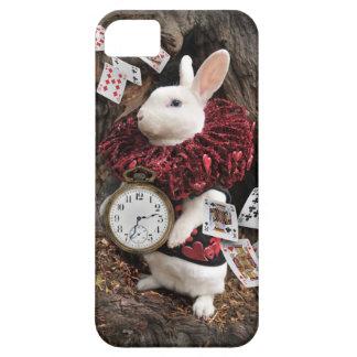 El conejo blanco iPhone 5 carcasas