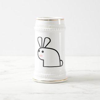 El conejo blanco taza de café