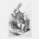 El conejo blanco toallas