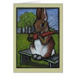 El conejo de Beatrix Potter Niza: Arte del lápiz d Tarjeton