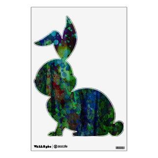 El conejo del © P Wherrell circunda el gráfico de