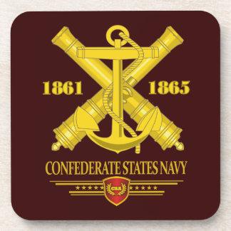 El confederado indica a la marina de guerra 2 posavaso