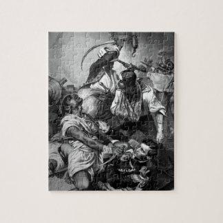 El conflicto de Decatur con el Algerine en Puzzle