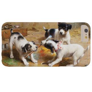 El conflicto de los pintores de Carl Reichert Funda Para iPhone 6 Plus Barely There