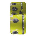 El conga amarillo brillante teclea photo.jpg iPhone 5 fundas