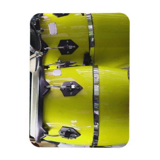 El conga amarillo brillante teclea photo.jpg imán flexible