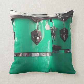 El conga de la verde menta teclea photo.jpg cojín