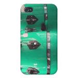El conga de la verde menta teclea photo.jpg iPhone 4 carcasas