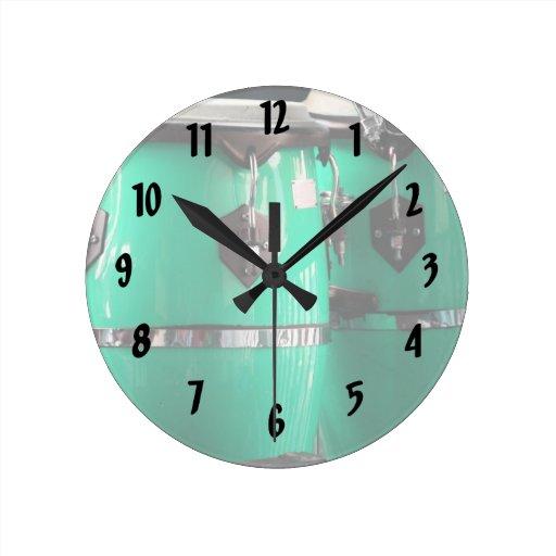 El conga de la verde menta teclea photo.jpg relojes de pared
