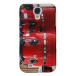 El conga rojo brillante teclea photo.jpg