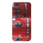 El conga rojo brillante teclea photo.jpg iPhone 5 protector