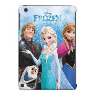 El | congelado Ana, Elsa, Kristoff y Olaf Funda Para iPad Mini Retina