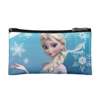 El   congelado Elsa sobre la sonrisa boba del