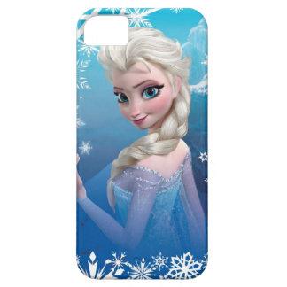 El   congelado Elsa sobre la sonrisa boba del Funda Para iPhone SE/5/5s