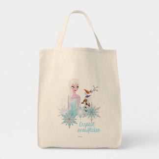 El | congelado Elsa y Olaf Bolsa Tela Para La Compra