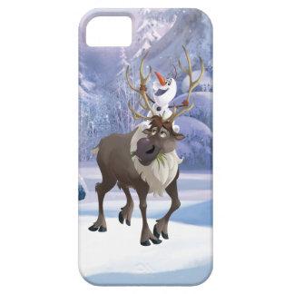 El   congelado Olaf que se sienta en Sven Funda Para iPhone SE/5/5s