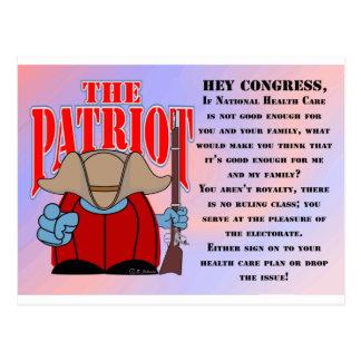 El congreso 1 del patriota postal