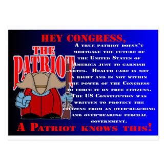El congreso 2 del patriota postal