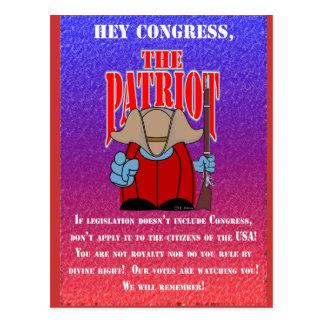 El congreso 3 del patriota postal