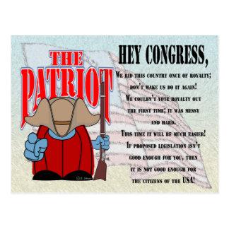 El congreso 4 del patriota postal