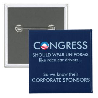 El congreso necesita los uniformes pin