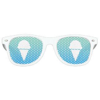 el cono de helado se descolora lentes de sol
