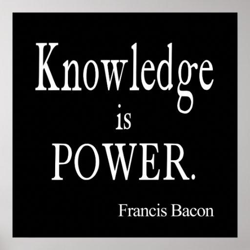 El conocimiento de Francis Bacon del vintage es ci Posters