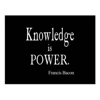 El conocimiento de Francis Bacon del vintage es ci Tarjeta Postal
