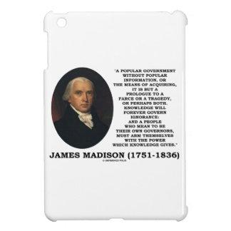 El conocimiento de James Madison gobierna para