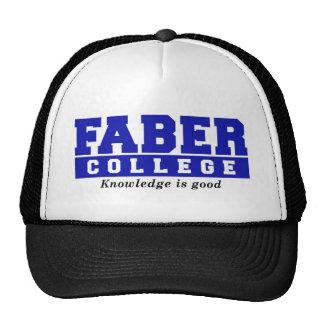 El conocimiento de la universidad de Faber es buen Gorras