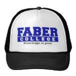 El conocimiento de la universidad de Faber es buen Gorras De Camionero