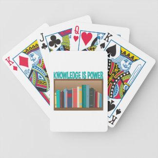 El conocimiento es poder barajas