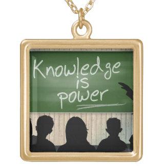 El conocimiento es poder joyerías
