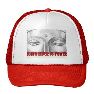 el conocimiento es poder gorro