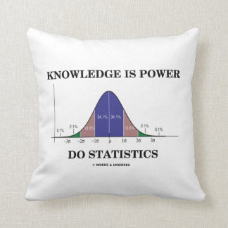 El conocimiento es poder hace humor de la curva de almohadas