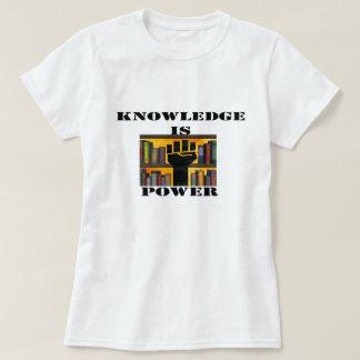 El conocimiento es poder playera