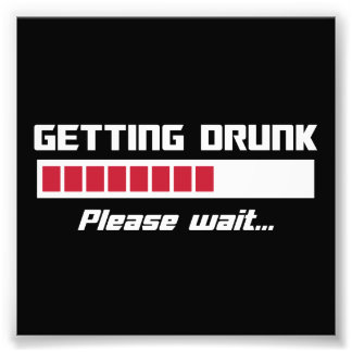 El conseguir bebido por favor espera la barra de fotografías