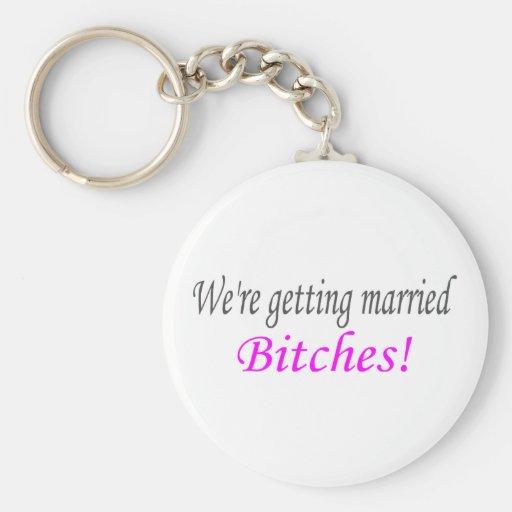 El conseguir casado llaveros