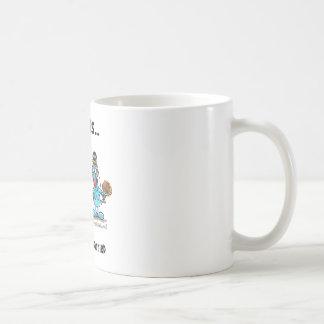 El conseguir casado taza básica blanca
