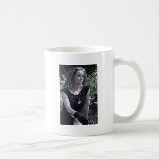 El conseguir más fuerte como voy taza de café