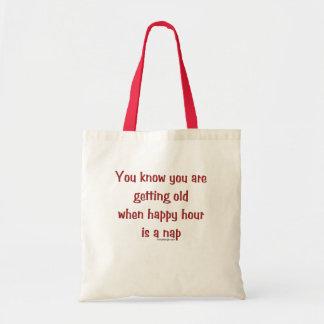 El conseguir viejo bolsa tela barata