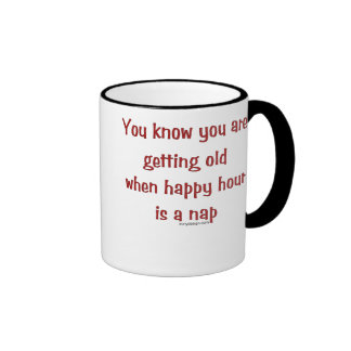El conseguir viejo taza de dos colores